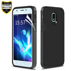 For Samsung Galaxy J7 J3 2018 Star Hybrid Rugged Phone Case + Screen Protector