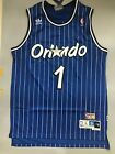 Tracy McGrady Orlando Magic Blue Striped Throwback Stitched Jersey Size S-XXL on eBay