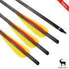 Crossbow Bolts Arrows Carbon Arrow with Filed Tips for Hunting Target Shooting