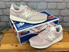 NEW BALANCE LADIES 420 REV LITE SUEDE PALE PINK TRAINERS VARIOUS SIZES SPRING