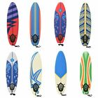Removable Waves Surfboard EPS Foam Beginner Board For Adults & Children Colorful