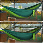 Portable Outdoor Double Mosquito Net Hammock Camping Hanging Bed Swing Tent USA
