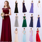 US Ever-Pretty Womens Long Bridesmaid Dress Lace Beaded Evening Prom Gown 09993