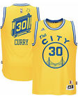 Stephen Curry #30 Golden State Warriors Men's Yellow 71-75 Throwback Jersey on eBay