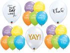 "6 x 27.5cm (11"") HAPPY BIRTHDAY Qualatex Latex Balloons -Party Special Occasion"