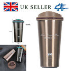 Stainless Steel Leakproof Insulated Thermal Travel Coffee Mug Cup Flask 0.5L New