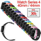 Apple Watch Series 4 40mm 44mm Replacement Band Silicone Strap For Women Men New image
