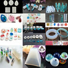 Uk Geometry Silicone Mold Resin Jewelry Making Diy Mould Epoxy Necklace Pendants