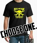 Diesel Mechanic T-Shirt Mens Funny Custom You choose Color, Size & Graphic Color image
