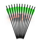 6X 16/18/22 Inch Carbon Crossbow Bolts Archery Arrows Bow Hunting Free shipping