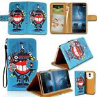 For Various Nokia Smart Phones - Leather Smart Stand Wallet Card Cover Case