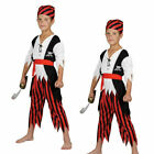 Child Boys Shipwreck Castaway Pirate Book Week Fancy Dress Costume 3-10 Years