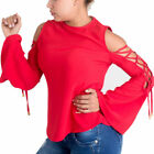 Pavi Italy red blouse 12-0110 for women