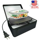 Portable Electric Food Warmer Heater Mini Microwave Oven Lunch Bag for Office