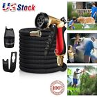 Heavy Duty Garden Hose Pipe Water Spray Gun Expandable Car Wash with Hose Nozzle