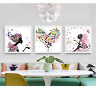 Dv_ Au_ Hot Butterfly Flower Painting Decorative Picture Home Living Room Wall D