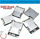 80A 380A 3S 4S Lithium Li ion LFP LiFePo4 Battery Protection BMS Board W Balance
