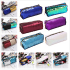 Mermaid Sequin Cosmetic Bag DIY Double Color Makeup Handbag Sparkling Party Bags