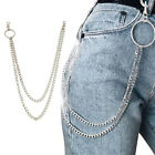 Clip Rock Punk Wallet Chain Belt Pants KeyChain Biker Link Hip Hop Jewelry