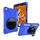 Hybrid 360 Rotating Rugged Stand Armor Tablet Case Cover For Apple iPad Mini 5 4