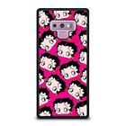 BETTY BOOP FACE COLLAGE Samsung Galaxy Note 4 5 8 9 Case Phone Cover $21.1 CAD on eBay