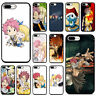 Fairy Tai lucy and natsu Japanese anime Soft Silicone Phone Case for iPhone