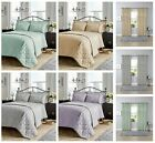 Luxury SAVOY Jacquard Duvet Cover Set Or Bed Spreads,Curtain All Siz Bedding Set