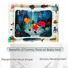 HOT Infant Toddler Play Activity Center Fun Tummy Time Inflatable Water Play Mat