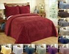 Better Trends Rio 100% Cotton Tufted Chenille Bedspread Assorted Sizes Colors image