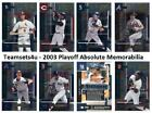 2003 Playoff Absolute Memorabilia Baseball Set ** Pick Your Team * See Checklist on Ebay