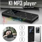 Portable bluetooth MP3 MP4 Music Player FM Hi-Fi Lossless Support up to 128GB