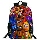 1pc Five Nights at Freddys Large School Boys Backpack Book Bag US STOCK