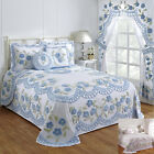 Better Trends Bloomfield 100% Cotton Tufted Chenille Bedspreads & Accessories image