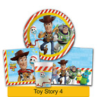 Disney TOY STORY 4 Birthday PARTY Range - Tableware Supplies Decorations PROCOS