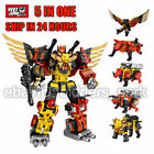 Transformers WeiJiang Predaking Combiner 5 In One Set Feral Rex Action Figure For Sale