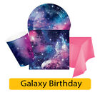 GALAXY Birthday Party Range - Outer Space Tableware Supplies Decorations {CP}