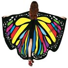New Butterfly Wings Cape Shawl Adult Fairy Pixie Cloak Costume Fancy Dress Party