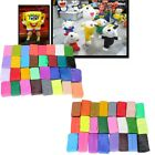 Oven Bake Polymer Clay Block Modelling Moulding Sculpey Craft Tools 24/32 Colors image