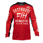 Fasthouse Dickson Mens Jersey Moto - Red White Black All Sizes