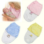 Newborn Infant Baby Flannel Blanket Soft Swaddle Wrap Sleeping Bag Winter Warm