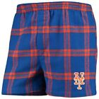 Concepts Sport New York Mets Royal Homestretch Flannel Boxer Shorts on Ebay