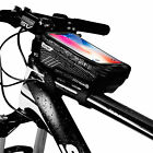 Cycling Bicycle Bike Top Frame Front Pannier Saddle Tube Bag 6.2'' Pouch Holder