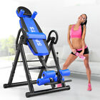 180°Home Folding Inversion Table Fitness Chiropractic Therapy Gym Back Stretcher image