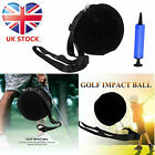 Golf Club Swing Ring Weighted Warm Up Aid Practice Tool Donut Training 1 Pc UK