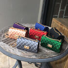 Women Faux Leather Shoulder Purse Messenger Crossbody Classic Quilted Chain Bag image
