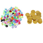 pirate toys coins and gems for pirate party treasure hunt game party For Sale - 48