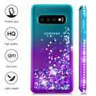 Samsung galaxy s10 plus Glitter Liquid Quicksand Floating Shiny Sparkle Flowing