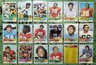 1975 Topps Football - Cards #1-176 - Set Break - Choose From The List (1 of 3) $1.41 CAD on eBay