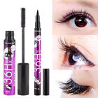 Mascara Eyeliner Set Two Long and Thick Waterproof and Not Blooming Makeupn New