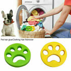 UK Pet Floating Fur Catcher Laundry Lint Pet Hair Remover For Washer&Dryer New